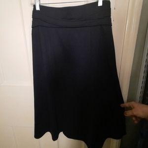 Black Aline skirt